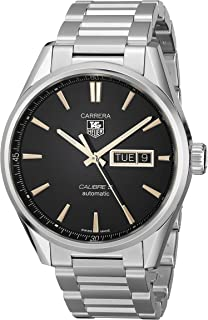 Men's WAR201C.BA0723 Carrera Analog Display Swiss Automatic Silver Watch