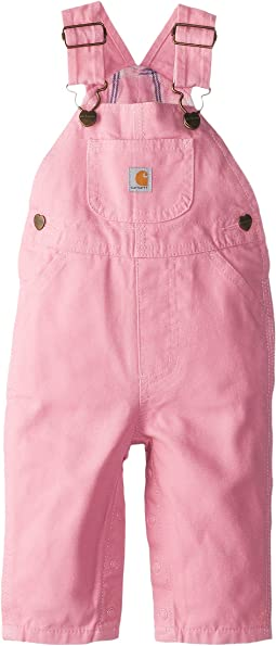 Carhartt Kids - Canvas Bib Overall/Flannel Lined (Infant)