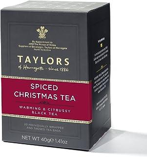 Taylors of Harrogate Spiced Christmas Tea, 20 Count