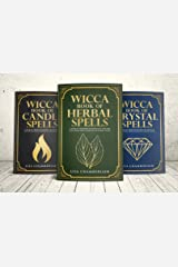 Wicca Spellbook Starter Kit: A Book of Candle, Crystal, and Herbal Spells (Wicca Starter Kit Series) Kindle Edition