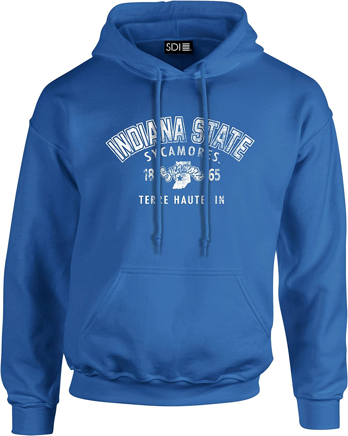 Nippon regular agency Indiana State Sycamores Mail order College Arch 50 8 Blended S Hooded oz