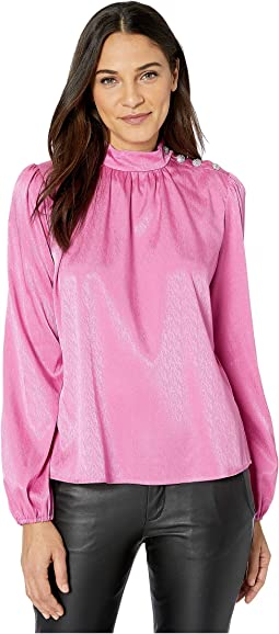 Pink Jacquard