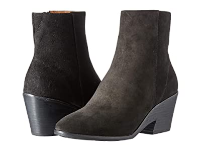 Gentle Souls by Kenneth Cole Blaise Wedge Bootie (Black Suede) Women