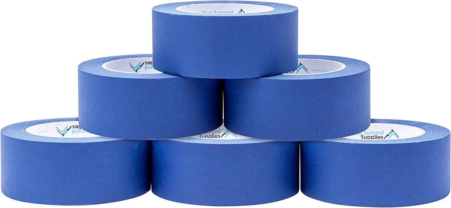 6 Pack 1.88 Inch Blue Painters Adhesive Max 51% OFF Sticks wholesale That Tape Medium