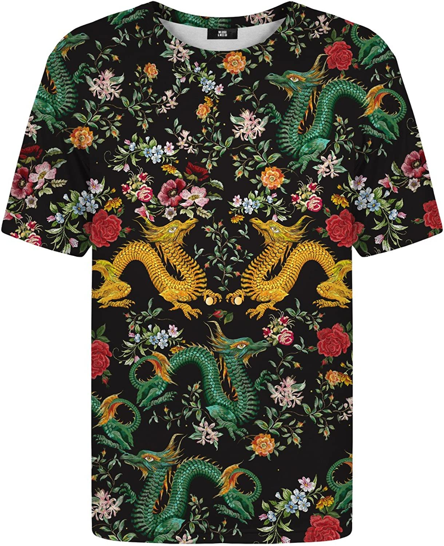 Mr Gugu Gugu Gugu & Miss Go Herren Damen Bedrucktes T-Shirt Asian Dragon B07CWV9FYK  Moderater Preis c4e101