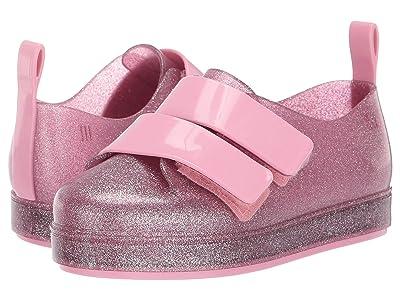 Mini Melissa Go Sneaker BB (Toddler/Little Kid) (Pink Glitter) Girl