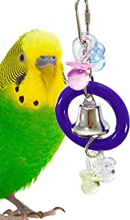 Bonka Bird Toys 1907 Ding-a-ling Bird Toy Parrot cage Toys Cages Cockatiel Lovebird parrotlet