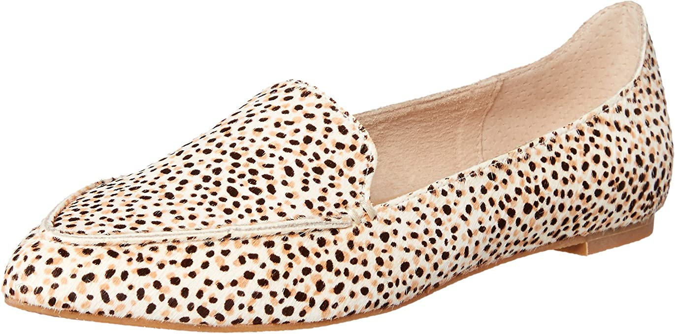 NUDE Women's Devon Loafer Flats