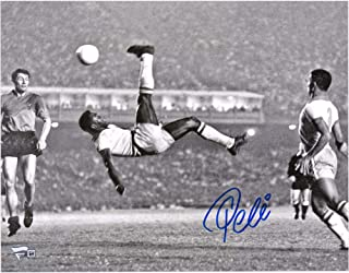 Pele Brazil F.C. Autographed 11