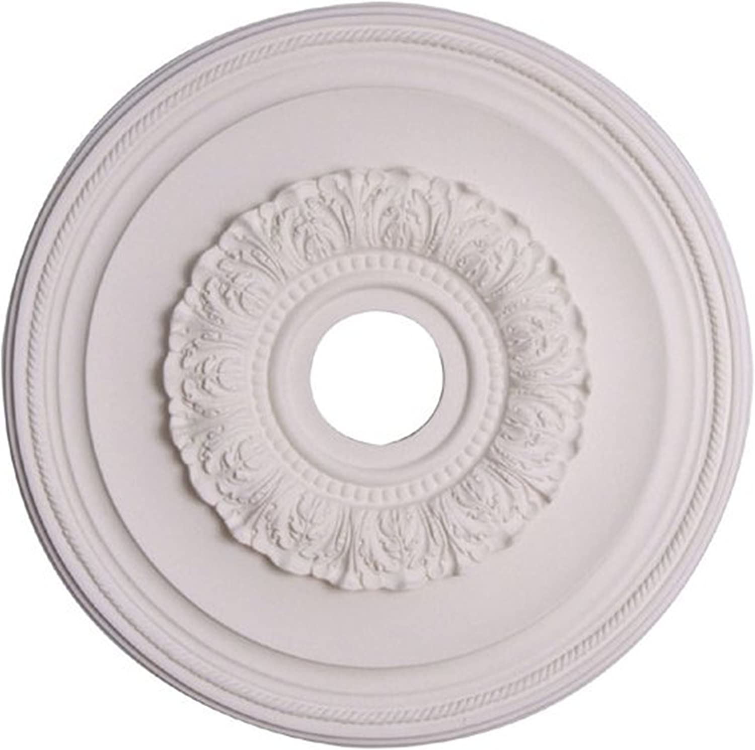 Capital Max 77% OFF Lighting National uniform free shipping 79481 Ansley White Paintable Medallion 16-Inch