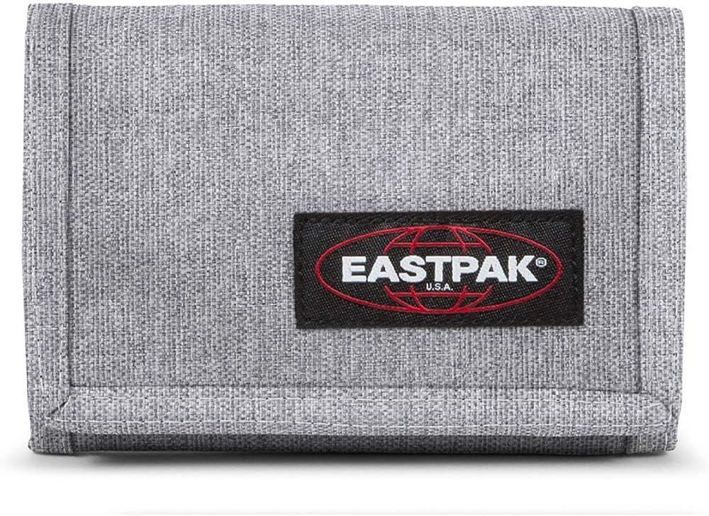 Eastpak crew single portafoglio porta carte di credito per uomo in nylon 60% e poliestere 40% EK000371363