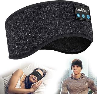 ink topoint Schlafkopfhörer,Kabellos Bluetooth Sport Stirnband Kopfhörer