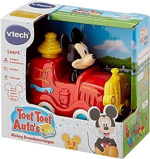 VTech - Toet Toet Auto's Disney Mickey Brandweerwagen - Multikleuren - Plastic - Voor Jongens en Meisjes - Van 1 tot 3 jaa...