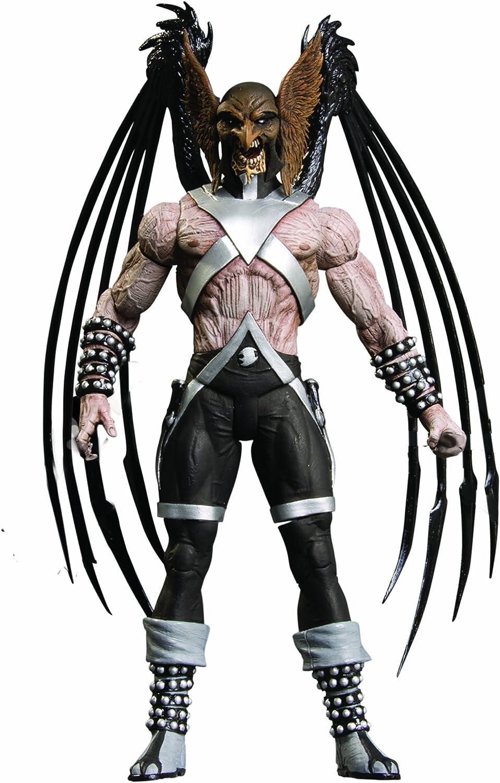 schwarzest Night 6 Inch Action Figure Series 5 - schwarz Lantern Hawkman