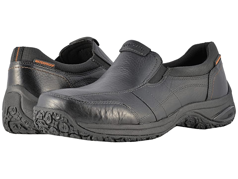 Dunham Litchfield Slip-On Waterproof (Black) Men