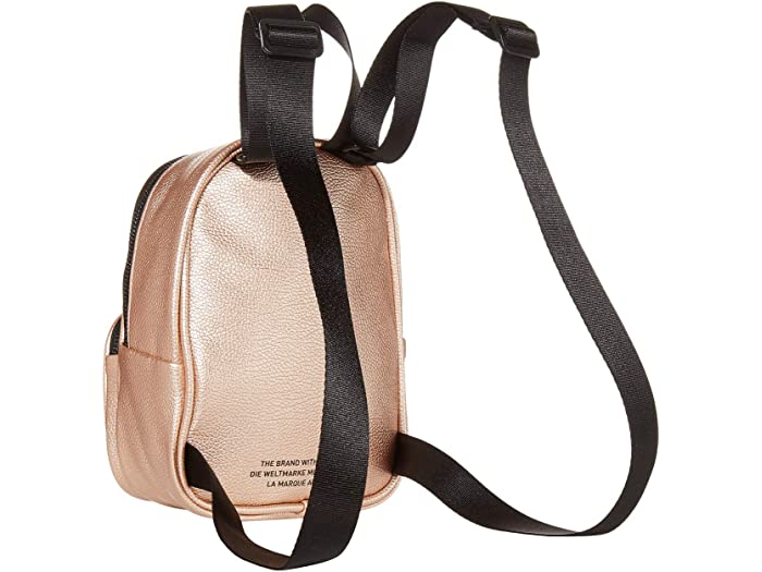 Adidas Originals Mini Pu Leher Backpack Rose Gold/black Backpacks