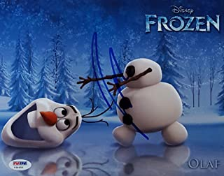 Josh Gad Olaf Signed Disney Frozen 8x10 Movie Photo PSA/DNA Y34655 Autograph