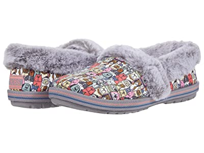 BOBS from SKECHERS Too Cozy Snuggle Rovers (Gray Multi) Women