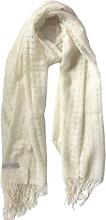 Large 100% Cashmere Shawl Scarf Wrap Stole w/fringe Gift Boxed Lightweight Cover