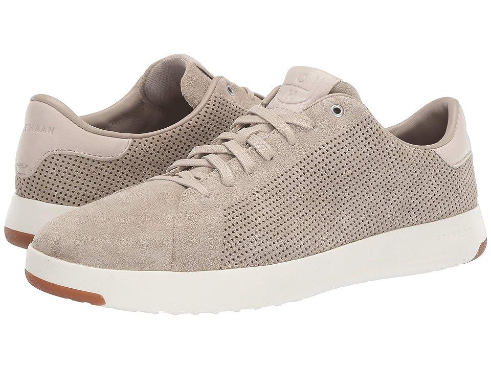 Cole Haan GrandPro Tennis Sneaker (Hawthorn Suede Perf/Pumice Stone) Men