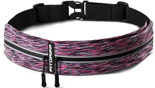 Fitgriff® Cinturón para Correr, Riñonera Running, Cinturón Deportiva Impermeable para Deportes o Viaje al Aire Libre ...