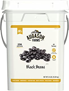 Augason Farms Black Beans Emergency Bulk Food Storage