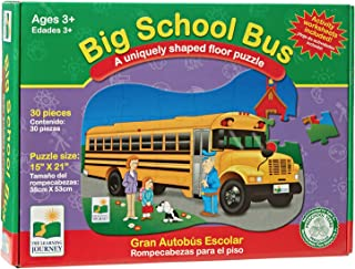 The Learning Journey Big School Bus Floor Puzzle