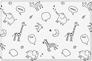 Parklon Baby Soft Play Mat Animal Talk (Animal Talk, Medium)