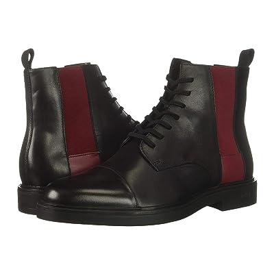 Calvin Klein Dameon (Black/Red Rock Nappa Calf Leather) Men