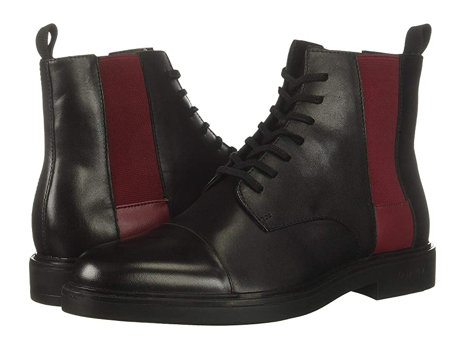 Calvin Klein Dameon (Black/Red Rock Nappa Calf Leather) Men