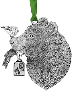 Wendell August Merry Bear Ornament