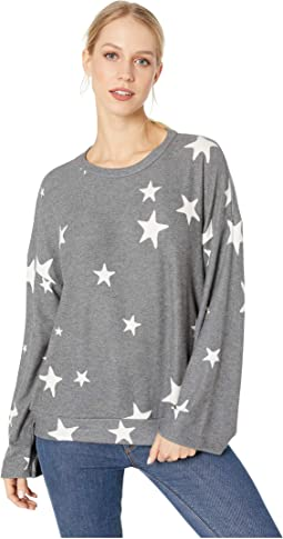 Brushed Star Janis Pullover