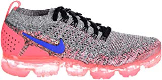 Air Vapor Max Flyknit 2 Women's Shoes White/Ultramarine/Hot Punch 942843-104 (10.5 D(M) US)