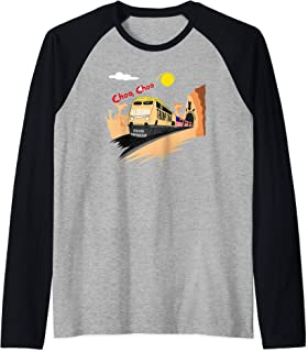 Hop On The Trump train Express 2020 Raglan Baseball Tee