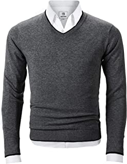 Best sweater with collared shirt mens Reviews