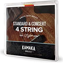 KAMAKA S-1 Standard & Concert 4 Strings ウクレレ弦セット