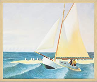 overstockArt the Martha Mckean of Wellfleet by Edward Hopper Framed Hand Painted Oil on Canvas, Not Applicable