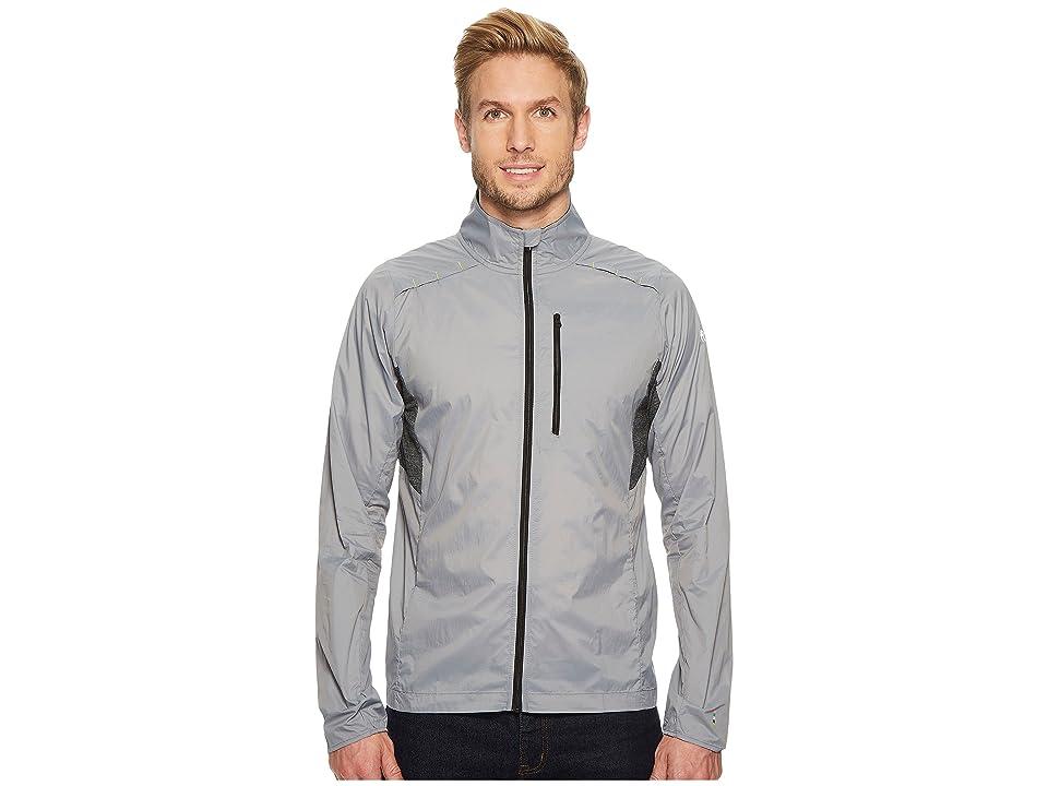 Smartwool PhD(r) Ultra Light Sport Jacket (Light Grey) Men