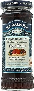 St. Dalfour Four Fruits Fruit Spread, 10 Ounce