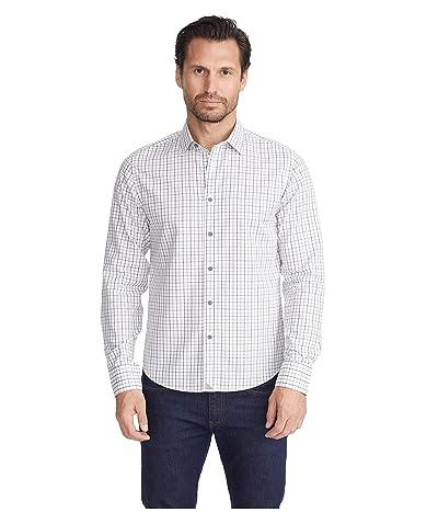 UNTUCKit Wrinkle-Free Seiler Shirt (White/Grey) Men