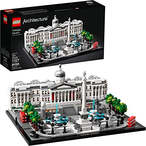 discount LEGO Architecture 21045 new arrival Trafalgar lowest Square Building Kit (1197 Pieces) outlet sale