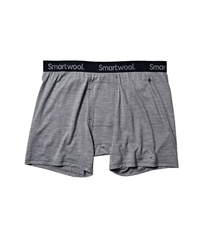Smartwool Merino 150 Boxer Brief (Light Gray Heather) Men