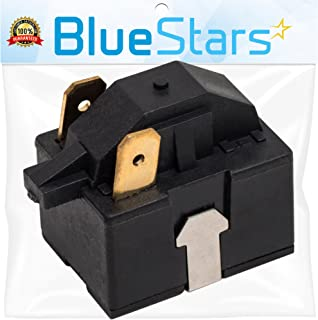 Ultra Durable 6748C-0004D Refrigerator Start Relay Replacement Part by Blue Stars - Exact Fit For LG & Kenmore Refrigerators - Replaces 6749C-0014E PS9865140