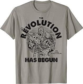 Thor Ragnarok Korg Revolution Begins Grey Out T-Shirt