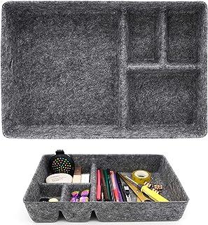 JJYHEHOT Organisateurs de Tiroirs en Feutre, Boîte de Rangement Confortable en Feutre Tactile, Cadeau Décoratif peu Encomb...