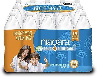 NIAGARA, Agua Purificada Niagara 1 litro. Paquete de 15