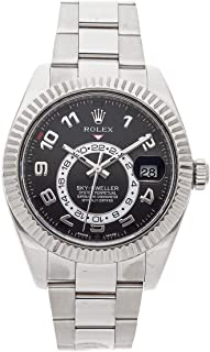 Rolex Sky-Dweller Mechanical (Automatic) Black Dial Mens Watch 326939 (Certified Pre-Owned)