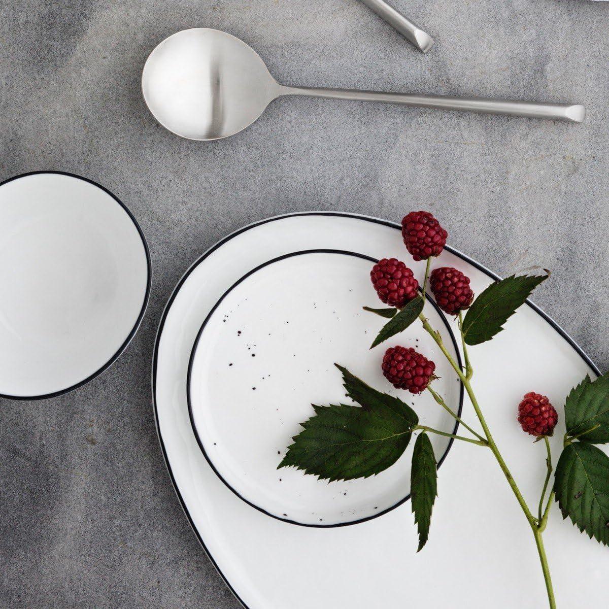 broste Copenhagen Salt Tasse mit Untertasse, Porzellan, 20 Stück ...