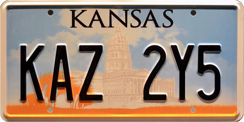 Supernatural | KAZ 2Y5 | Metal Stamped License Plate