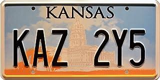 Celebrity Machines Supernatural   Kaz 2Y5   Metal Stamped License Plate
